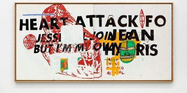Judge Jean-Michel Basquiat-Andy Warhol Collaborations For Yourself At Jack Shainman Gallery's The School