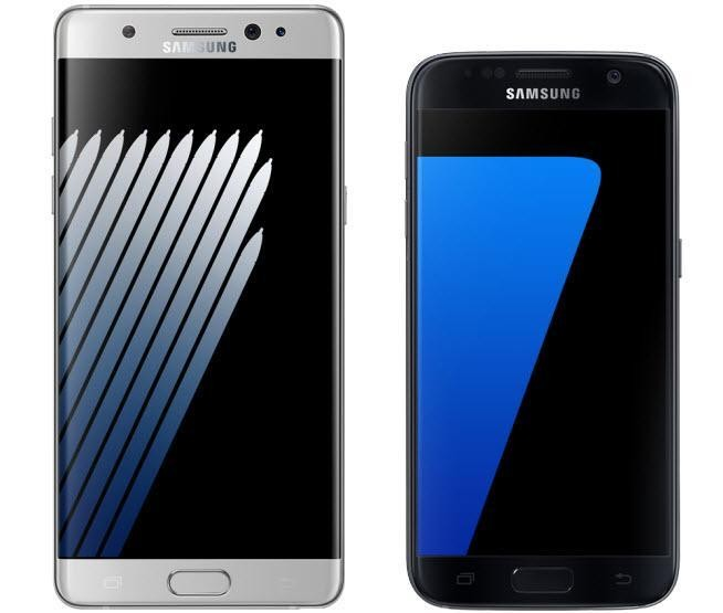 Galaxy Note 7 Vs Galaxy S7: What's The Difference?