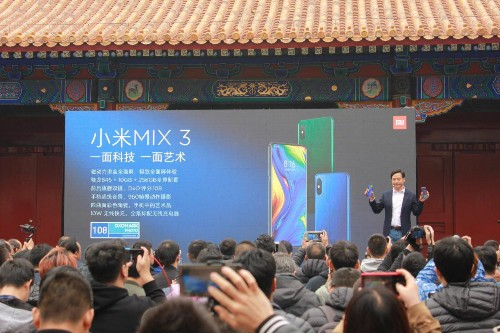 Xiaomi Mi Mix 3 Hands-On: The Slider Phone With 10GB of RAM