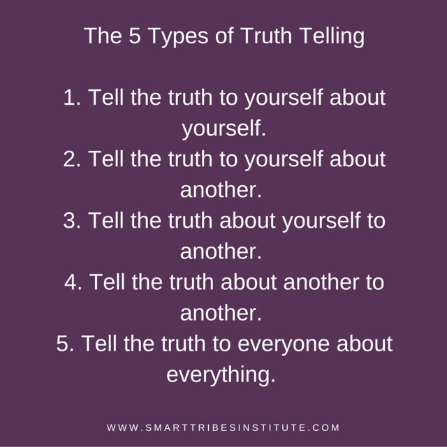 Are You Telling The 5 Types Of Truth?