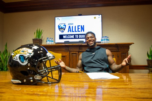 Jaguars Ink First Round Draft Pick Josh Allen To First NFL Contract