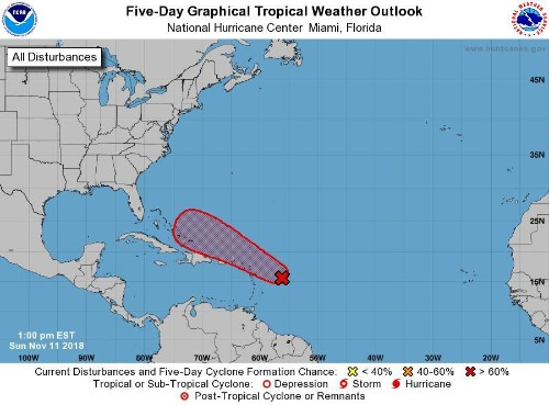 Hurricane Season Is Almost Over - So Why Are Meteorologists Watching The Caribbean?