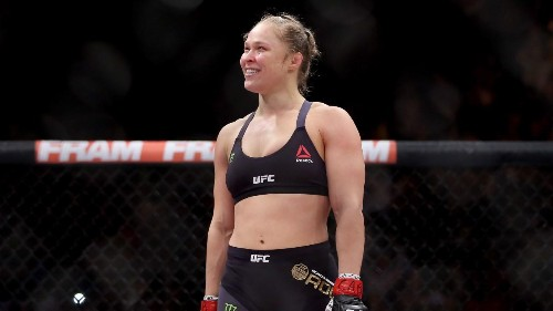 Turns Out That Ronda Rousey Is A Massive 'Dragon Ball' Fan