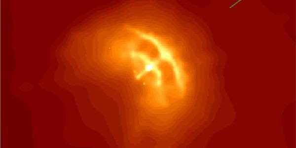 A Radio Glitch Reveals The Structure Of A Neutron Star