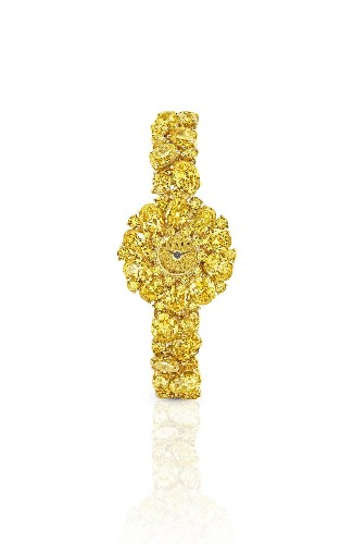 Graff Unveils Three Of The Most Expensive Fancy Vivid Yellow Diamond Watches On The Market