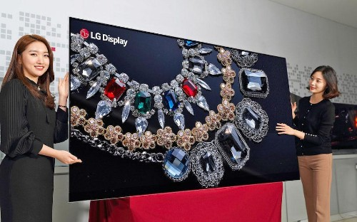8K OLED Two Years Behind 8K LCD, Claims Analyst