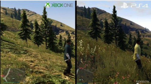 'GTA 5' Has Way More Foliage On PS4 Than Xbox One