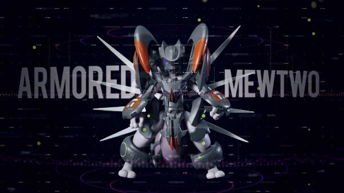 A New And Re-Designed Armored Mewtwo Figure Is Released This July
