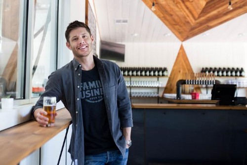 'Supernatural' Star Jensen Ackles Opens A New Texas Brewery And Keeps It All In The Family