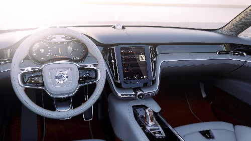 Volvo Ditches Buttons and Knobs In Favor Of Tablet-Like Touchscreen On Future Models
