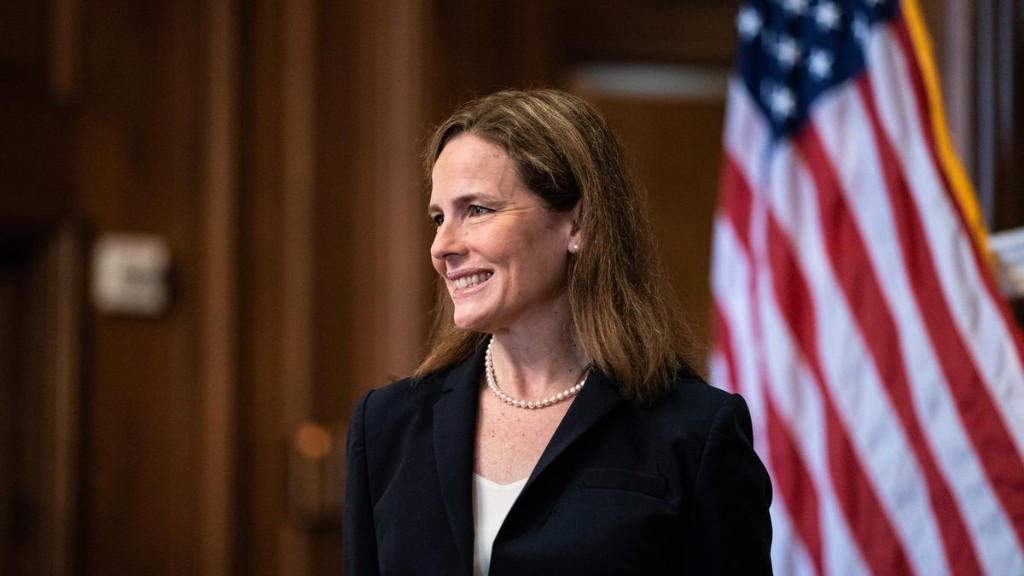 Amy Coney Barrett Confirmed To Supreme Court, Cementing Conservative Majority