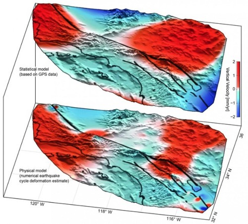 Large Movement Detected Along San Andreas Fault