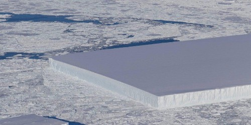 NASA Finds Perfectly Rectangular Iceberg In Antarctica As If It Was Deliberately Cut