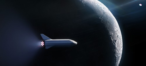 Lunar Launch Boosts SpaceX Into New Sphere of Business