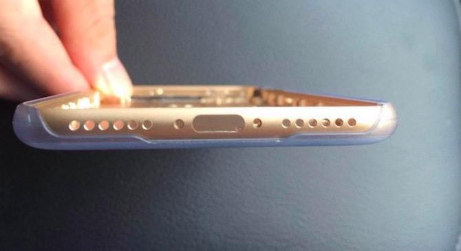 Leaked iPhone 7 Chassis Photo Shows Headphone Jack Replaced