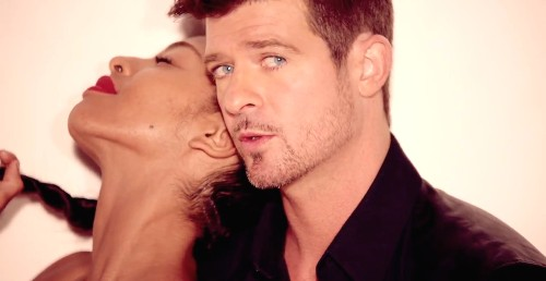 """Will The $7.3 Million Robin Thick """"Blurred Lines"""" Verdict Kill Songwriting As We Know It?"""