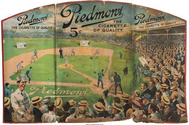 Valuable Baseball Ad From Ty Cobb Era Found In The Walls Of Demolished Cigar Store