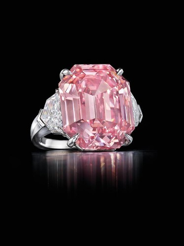 Harry Winston Buys Pink Legacy Diamond At Christie's For $50,375,000