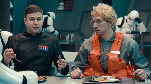 Kylo Ren Is An Undercover Boss In SNL's Hilarious 'Star Wars' Sketch