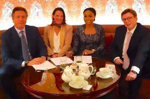 Nigerian Business Leaders Aliko Dangote, Bella Disu, Jim Ovia Attend Choose France Summit