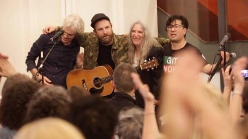 Video Premiere: Patti Smith And Choir! Choir! Choir! 'People Have The Power'