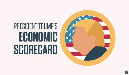 Trump's Economic Scorecard: Higher Inflation, Flat Wages And A Ballooning Federal Deficit