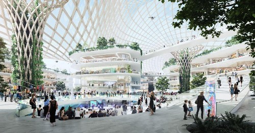 The Future Of The Shopping Mall Is Not About Shopping