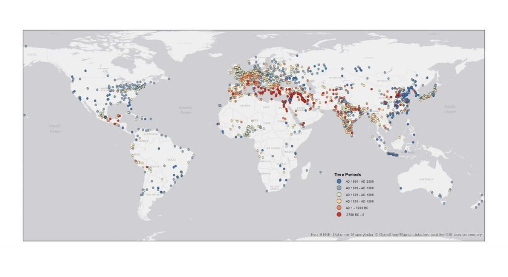 Mapping The 6,000-Year History Of The City