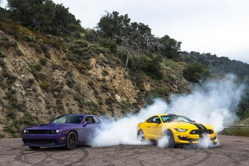 Dodge Challenger Hellcat And Ford Mustang Shelby GT350: The Best Of The Muscle Car Era Lives On