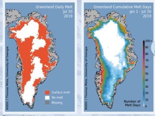 Greenland Is Melting At Its Highest Elevations And That's Unusual