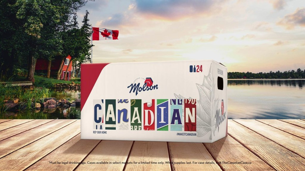 Canada's Best-Selling Beer Isn't Canadian. Molson Is Trying To Fix That With Local Beer Campaign.