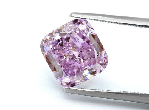 3.37-Carat 'Purple Orchid' Diamond To Be Unveiled At Hong Kong Jewelry Show