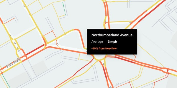 Uber Data Reveals Motoring Slower Than Walking In Many Cities