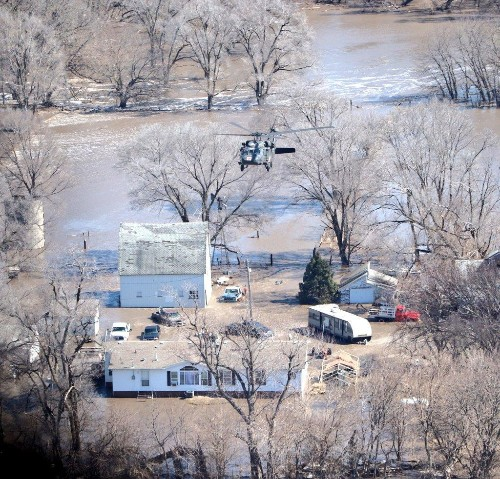 Four Lessons From 'Bomb Cyclone' Flooding In The Great Plains