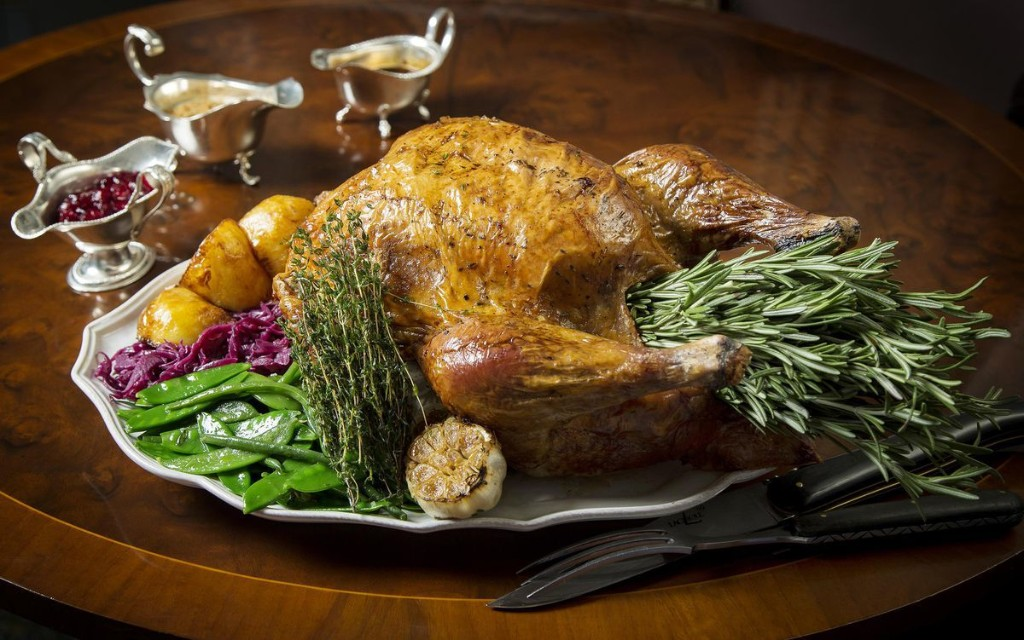 Stuck In London? Here's Where To Celebrate Thanksgiving In Style