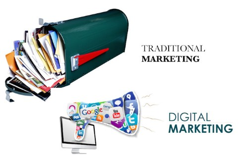When Traditional Marketing Meets Digital Marketing