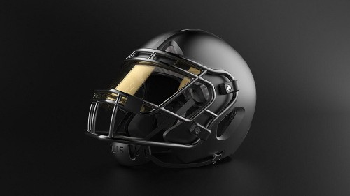 How This New Football Helmet Is Designed To Protect The Brain