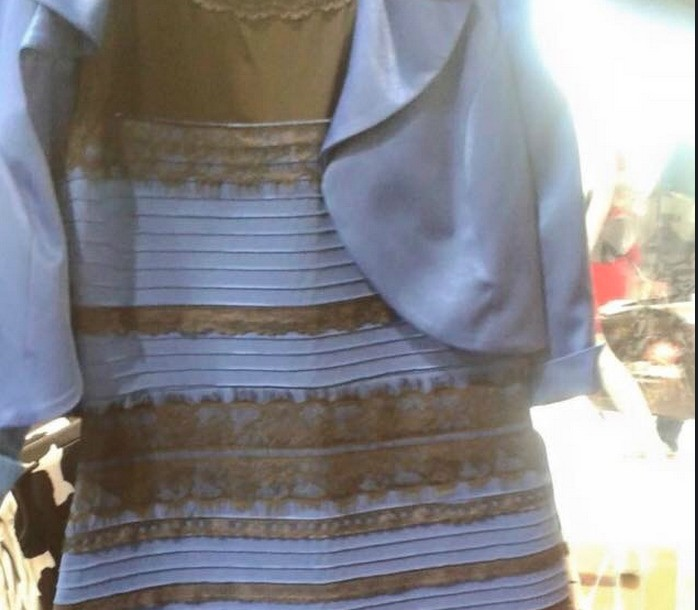 Why People See That Dress Differently: Your Brain Creates Its Own Color Palette