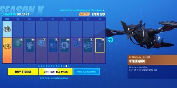 The 'Fortnite' Season 10 (Season X) Battle Pass Is Live, Here's What's In It