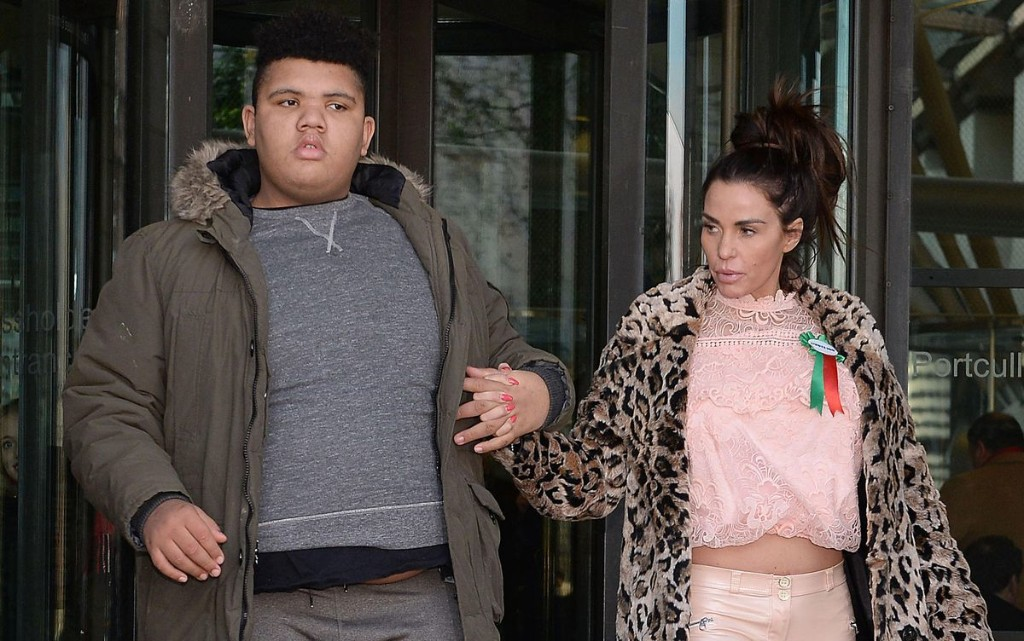 Katie Price Gunning For Internet Trolls Who Abuse Disabled Son