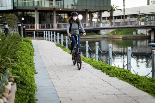 Bicycling - cover