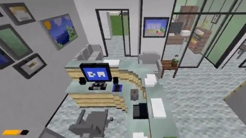 Reddit User Created The Entire Dunder Mifflin Office In Minecraft