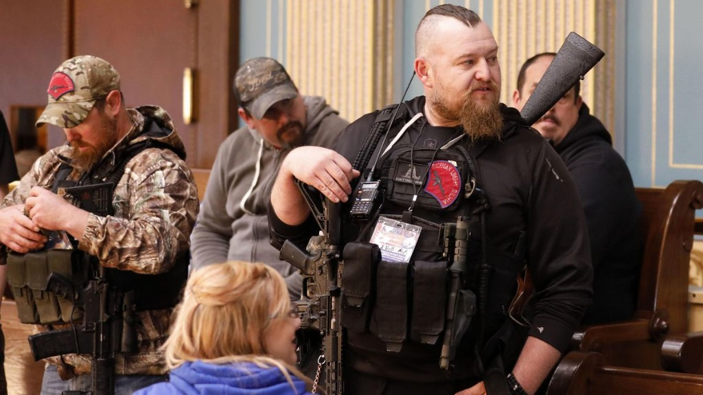 Michigan Sheriff: Militia Suspects May Have Merely Been Attempting To 'Arrest' Whitmer