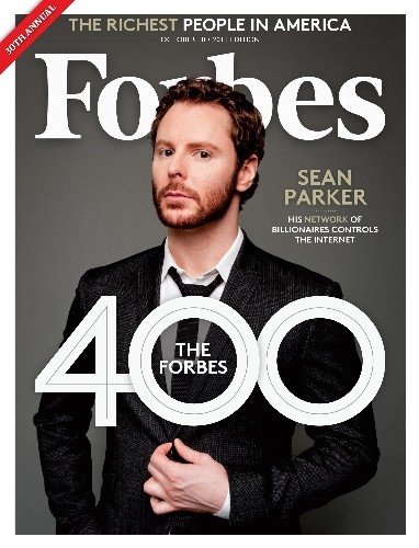 Sean Parker: Agent Of Disruption