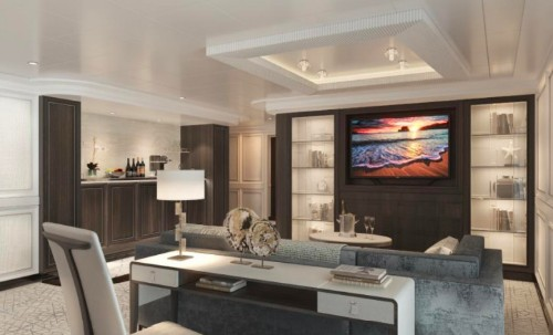 Luxury Cruise Line Regent Seven Seas Unveils The Suites Aboard Seven Seas Splendor