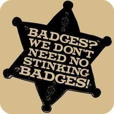 Why Get a Pricey Diploma When a Bleepin' Badge Will Do?