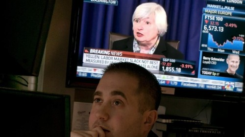 Stocks Snap Back After Yellen Scare, Banks Push Higher