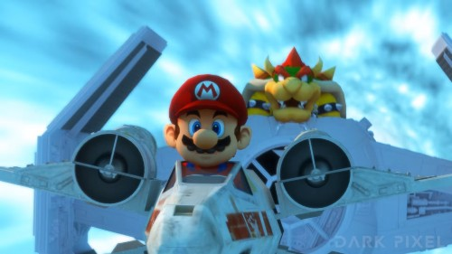 This 'Star Wars' Meets 'Mario Kart' Video Is The Best Thing Ever
