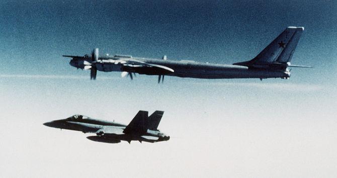 Russian Bombers Continue Probing U.S. Defenses