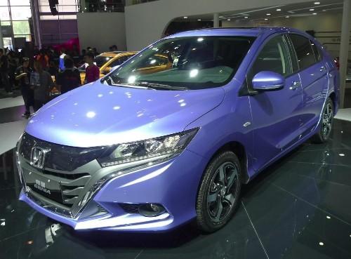 Honda Gienia Debuts At The Chengdu Auto Show In China